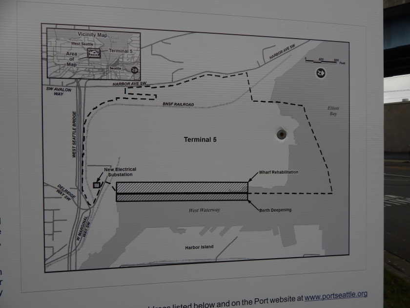 Map of T-5 on notice of land use