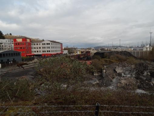 Rail Yard near Harbor Avenue