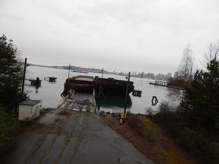 Imagine them loading lumber on this ramp