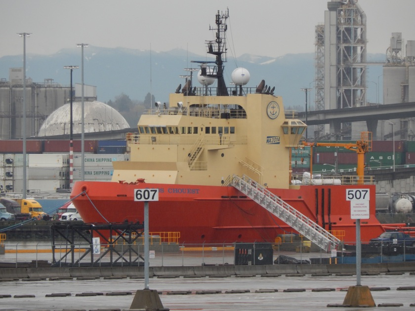 Ross Chouest - Big Tug/Supply ship at T-5