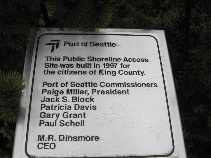 Dedication of Park in 1997