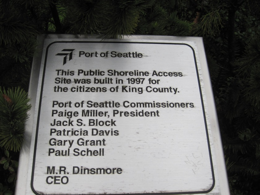 Dedication of Park in 1997