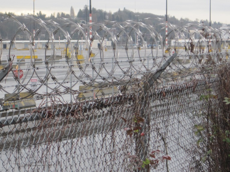 Serious Barb Wire at T-5