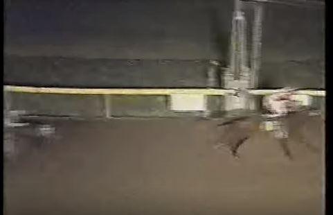 Last Race at Longacres Finish line - Sept 1992