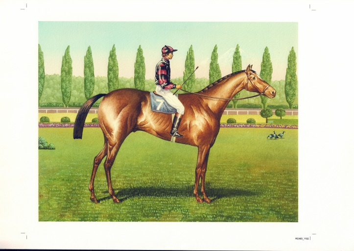 Longacres Art from Bill Taylor