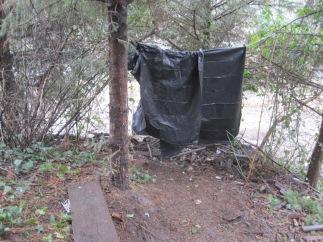 Herring House - Homeless tarp