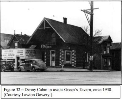 Denny Cabin on Queen Ave Seattle as a Tavern