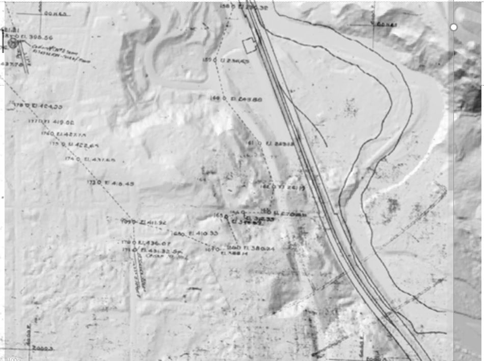 k_41-coal-mine-map-on-top-of-current-hillshade-map